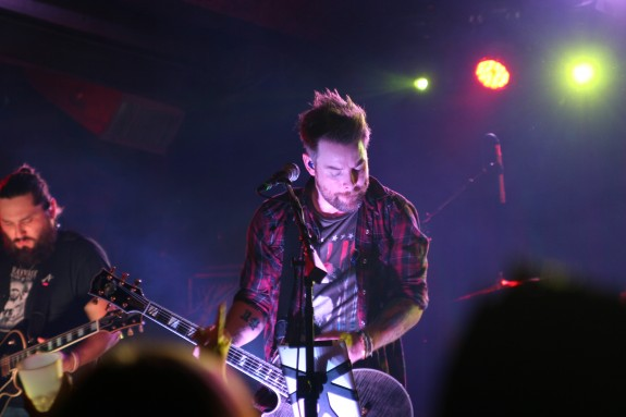 David Cook at a San Diego performance on Monday, Feb. 23. He is coming to Uptown Theatre in Napa on Saturday, Feb. 28. (photo by Bill Pinella)